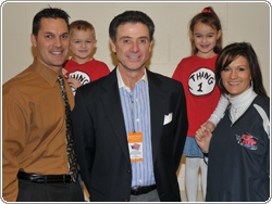 Rick Pitino at Flyin' to the Hoop